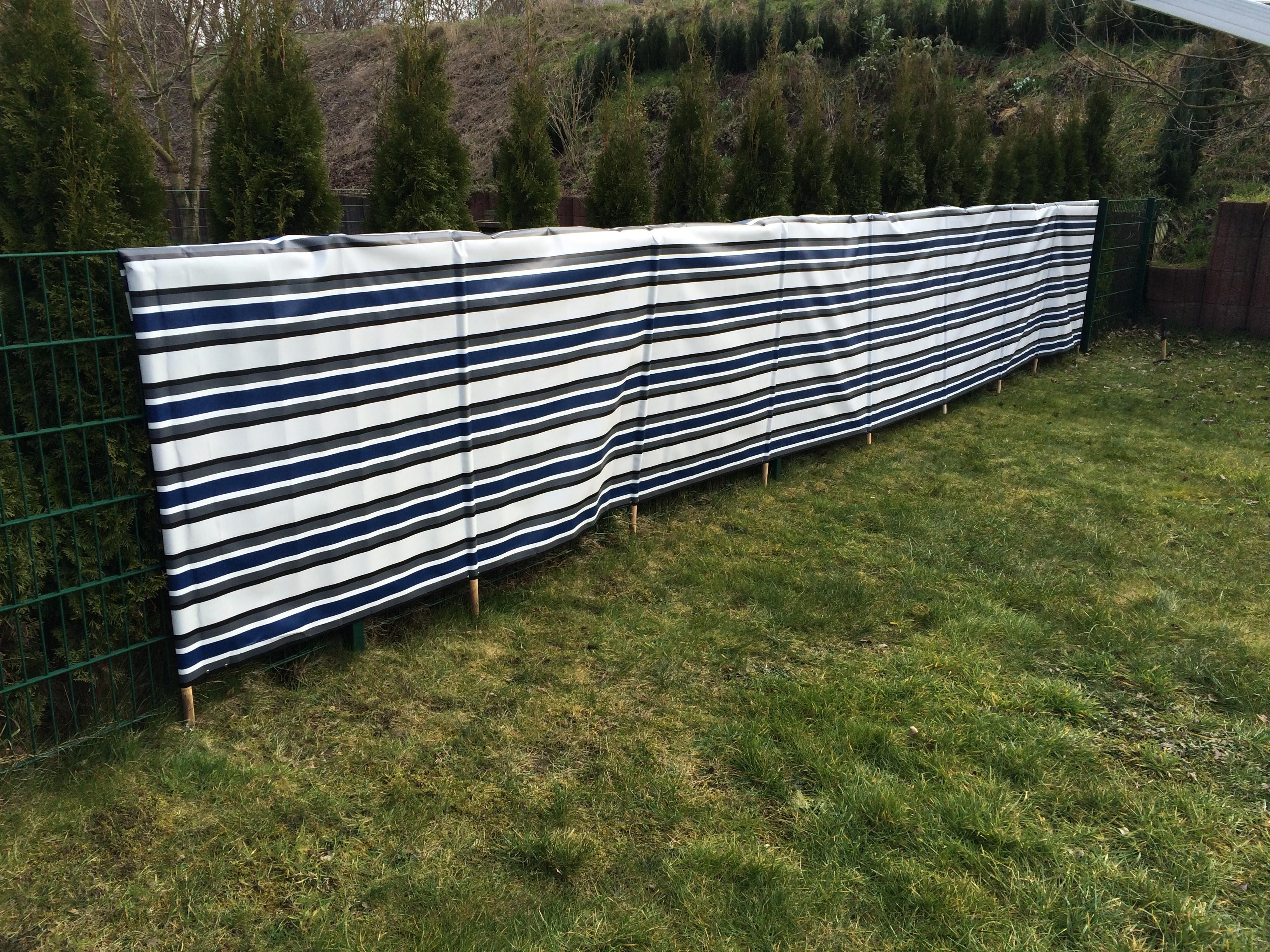 Sicht Und Windschutz Mit Planenstoffe Planteam