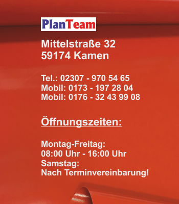 Kontakt PlanTeam